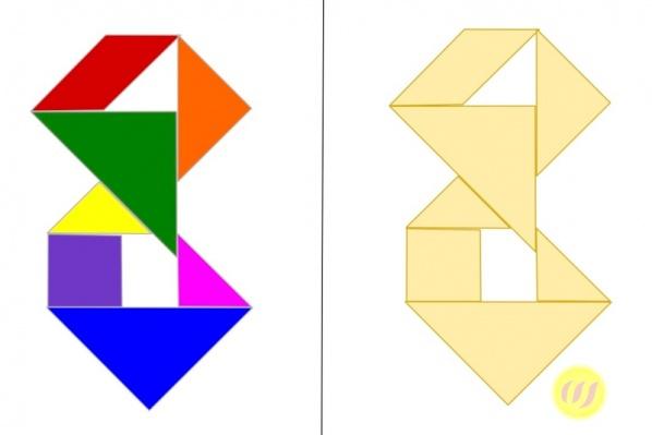 tangram  motive  wunderwerkstatt